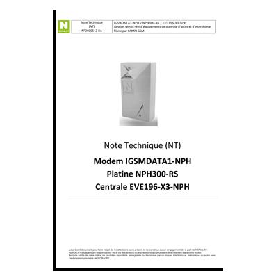 IGSMDATA1-NPH / NPH300-RS / EVE196-X3-NPH