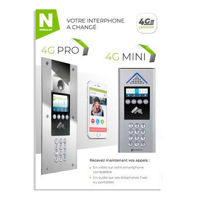 4G PRO – 4G MINI & APPLICATION PORTAPHONE
