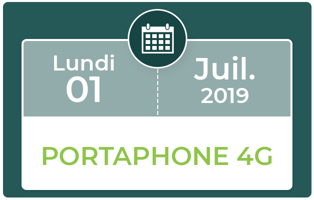 FORMATION PORTAPHONE 4G