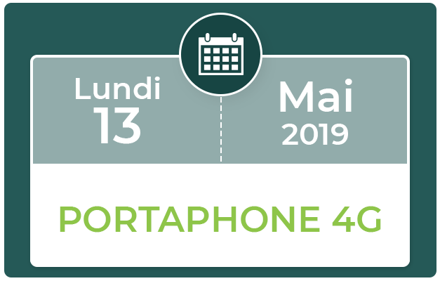 FORMATION PORTAPHONE 4G
