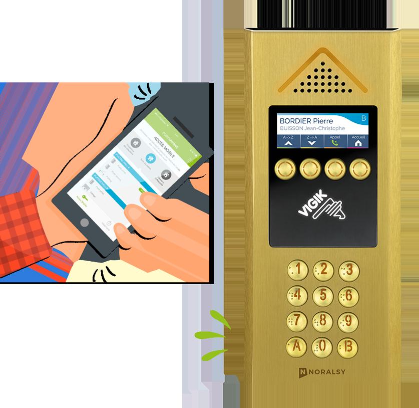 4G MINI – L'interphone 4G pour connecter vos résidences !